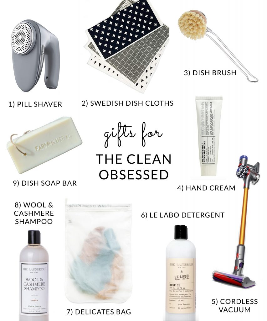 Gifts for a clean person and the cleaning obsessed