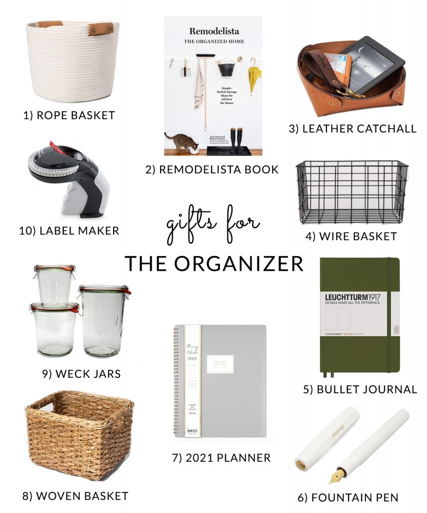 Organization gifts for organizers