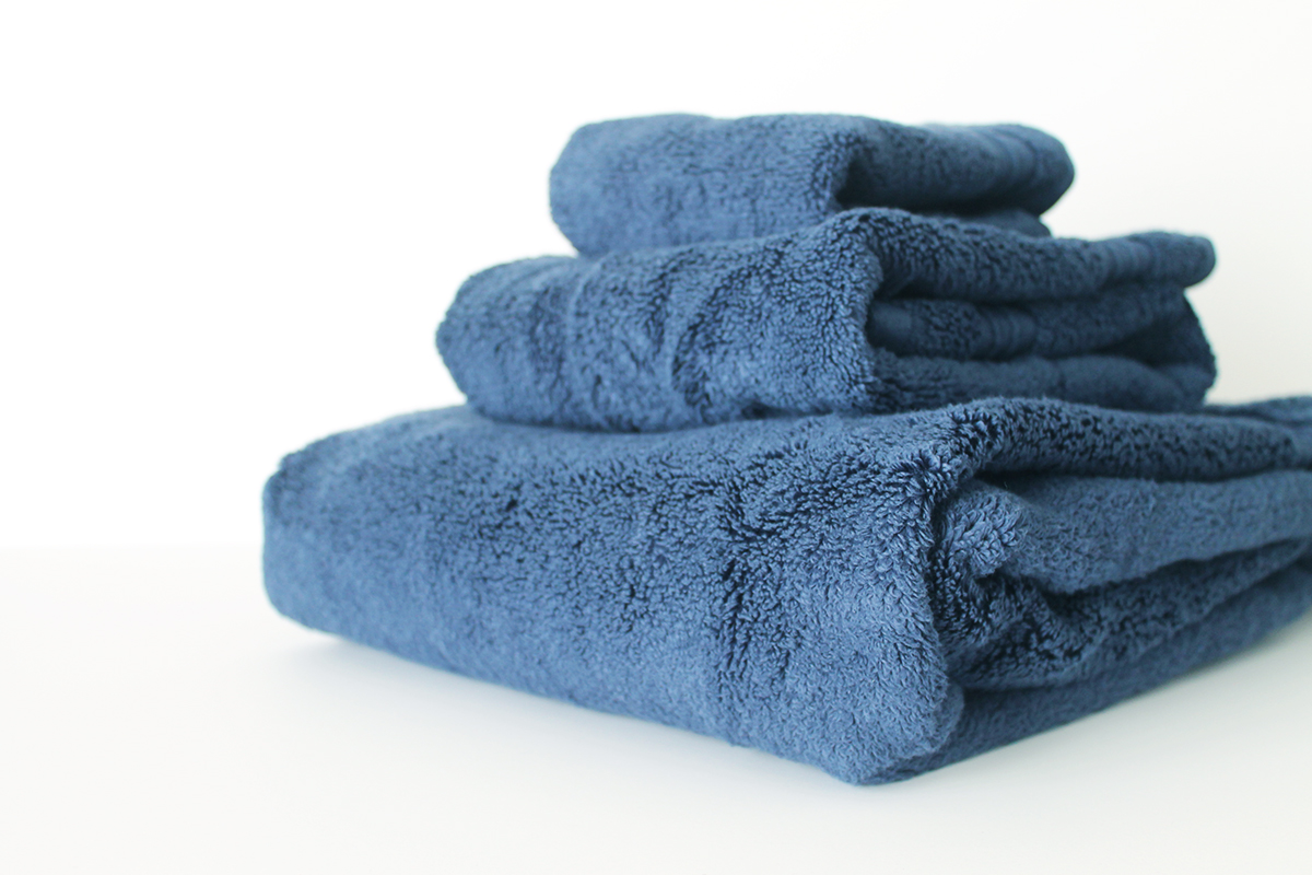 How to avoid discoloration on colored towels