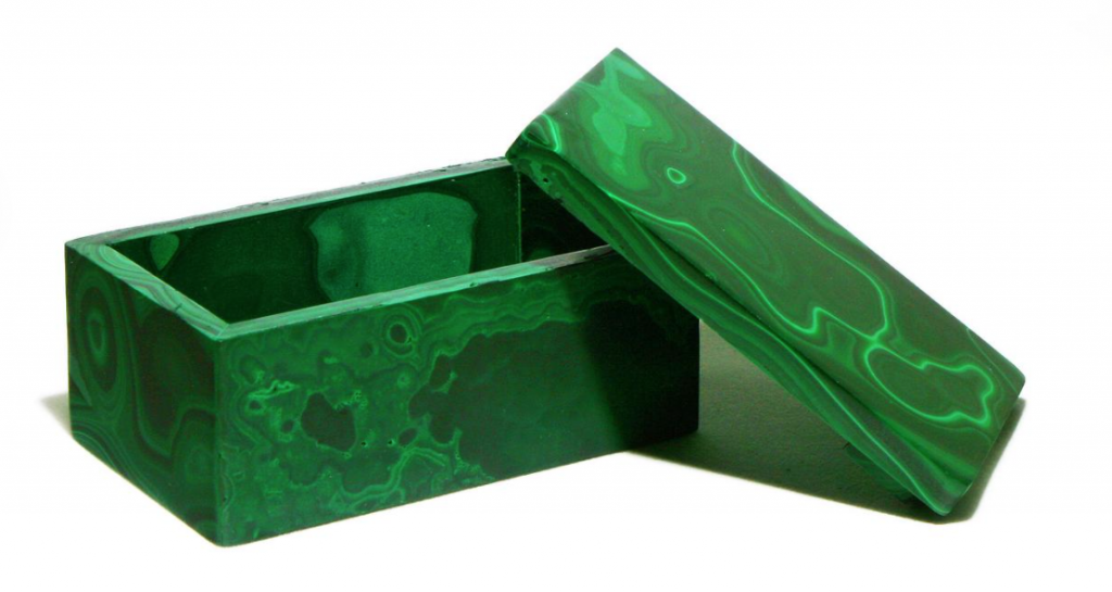 Etsy malachite box