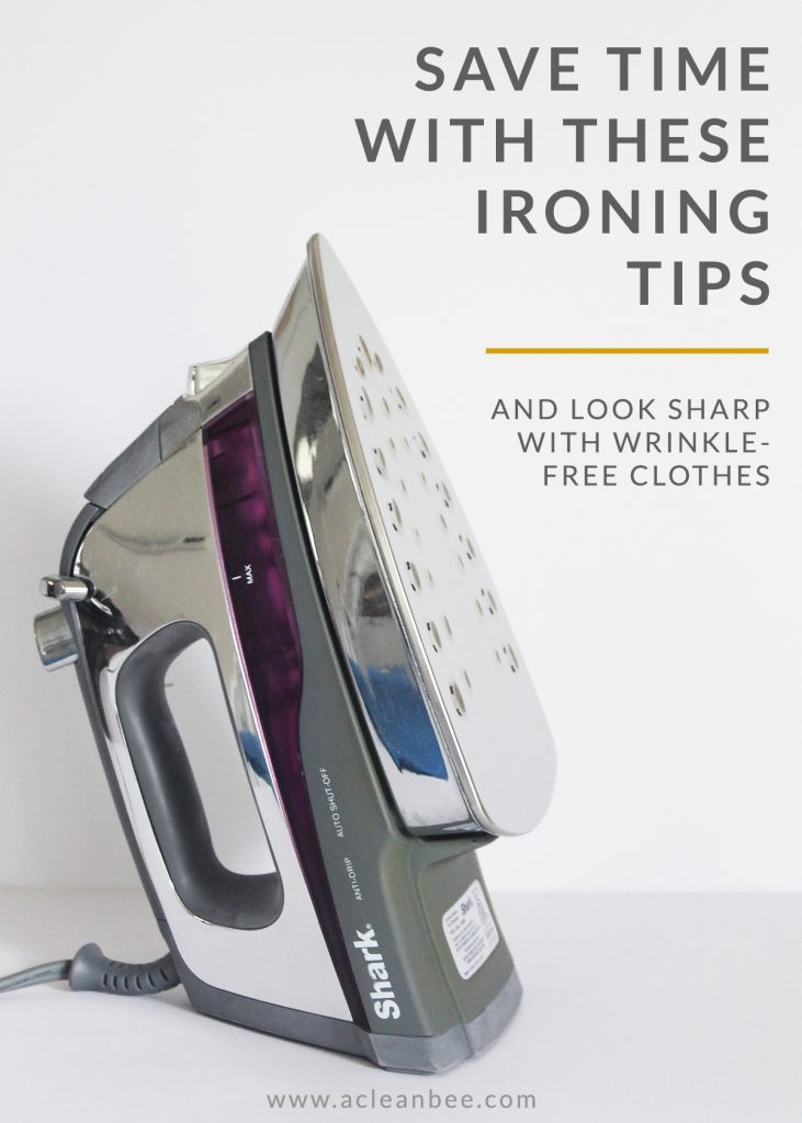 Ironing hacks that save time and leave you looking sharp.