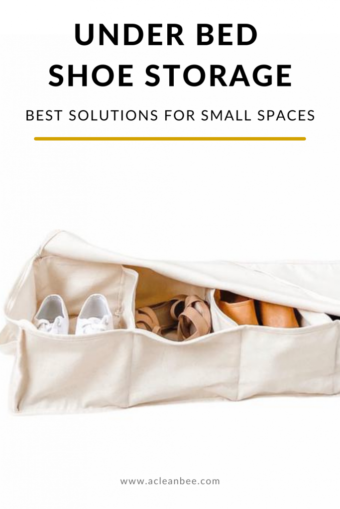 6 Best Under Bed Shoe Storage Solutions for Small Spaces