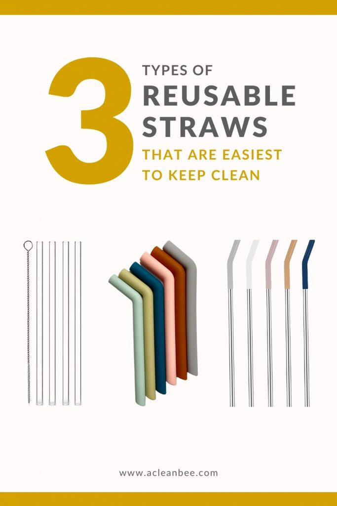 The 3 types of reusable straws that are easiest to keep clean