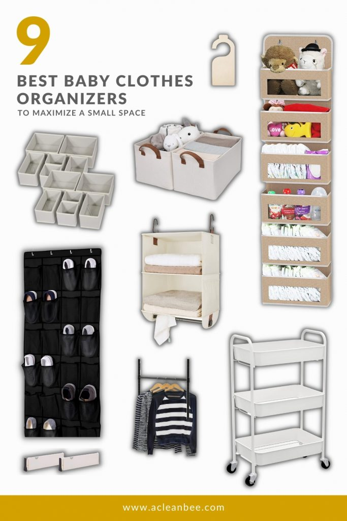 9 Best Baby Clothes Organizers to maximize a small space