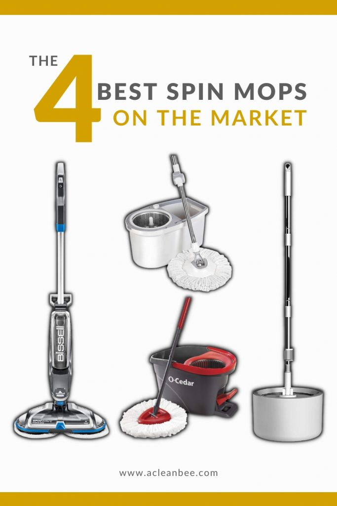 The 4 best spin mops on the market