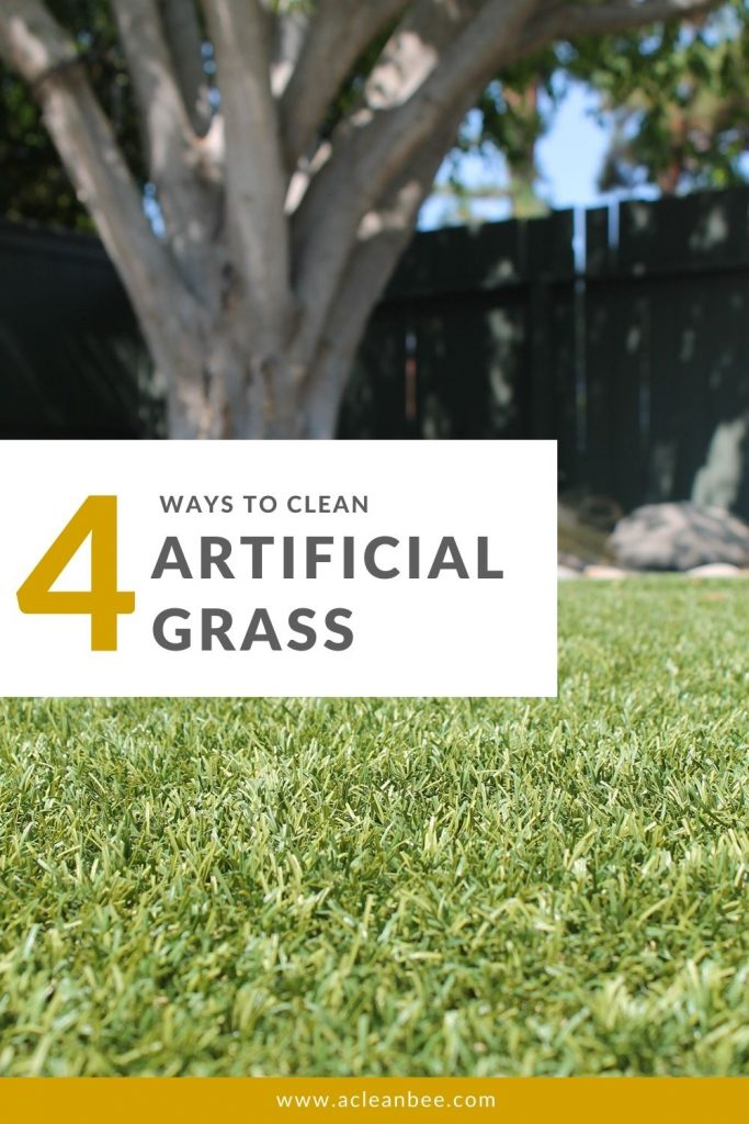 Learn how to clean your artificial grass